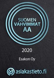 Suomen Vahvimmat AA 2020 - asiakastieto.fi